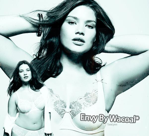 Tara pour la marque de lingerie  Wacoal