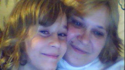 moi mon fils kevin et ma fille kelly que j'adore