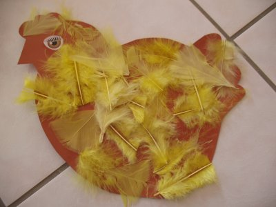 poule de pâques