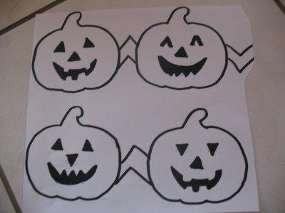 Guirlande de halloween