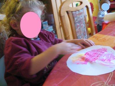 Peinture aux doigts