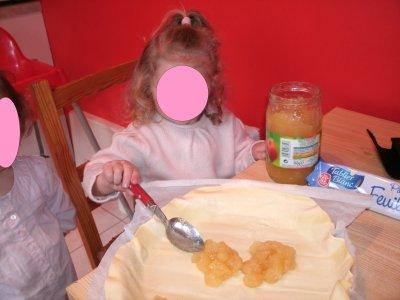 La galette aux pommes