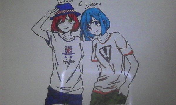 Dessin 2 des soeurs Nanami !