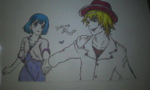 Dessin Yukina & Syo