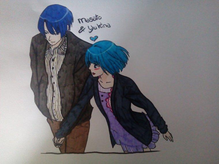 Dessin Yukina & Masato