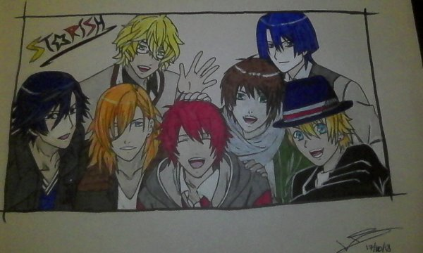 Dessin du groupe STARISH