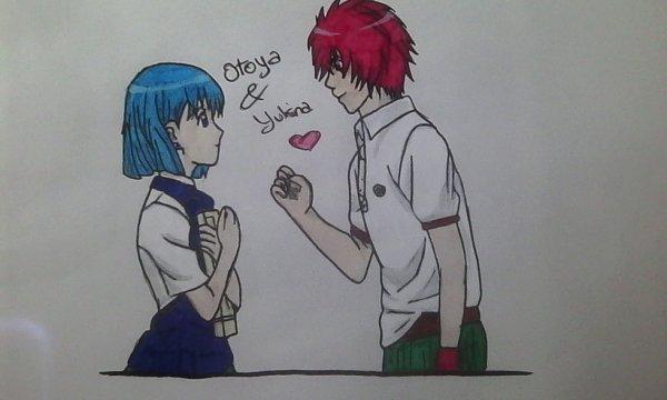 Dessin Yukina & Otoya