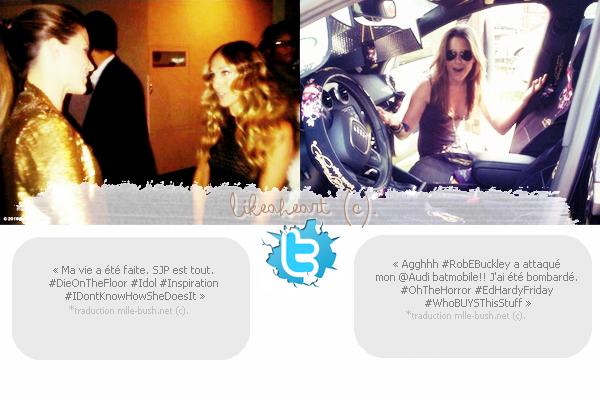 --------- ♦_Sophia de sortie + News Twitter.---------