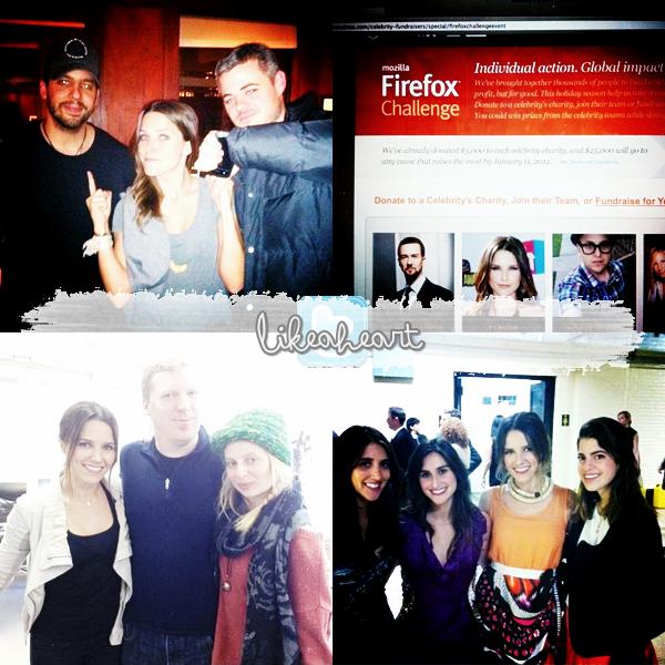 --------- ♦_Sophia de sortie & nouveau Photoshoot + Promo OTH saison 9.---------