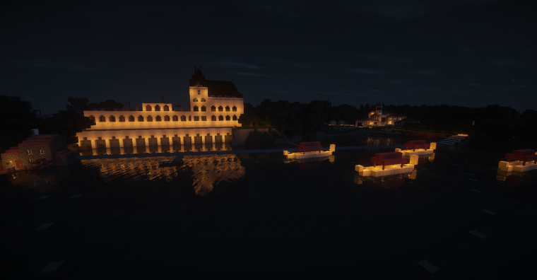 Quand un vieux château de Vendée devient le palais des Doges...