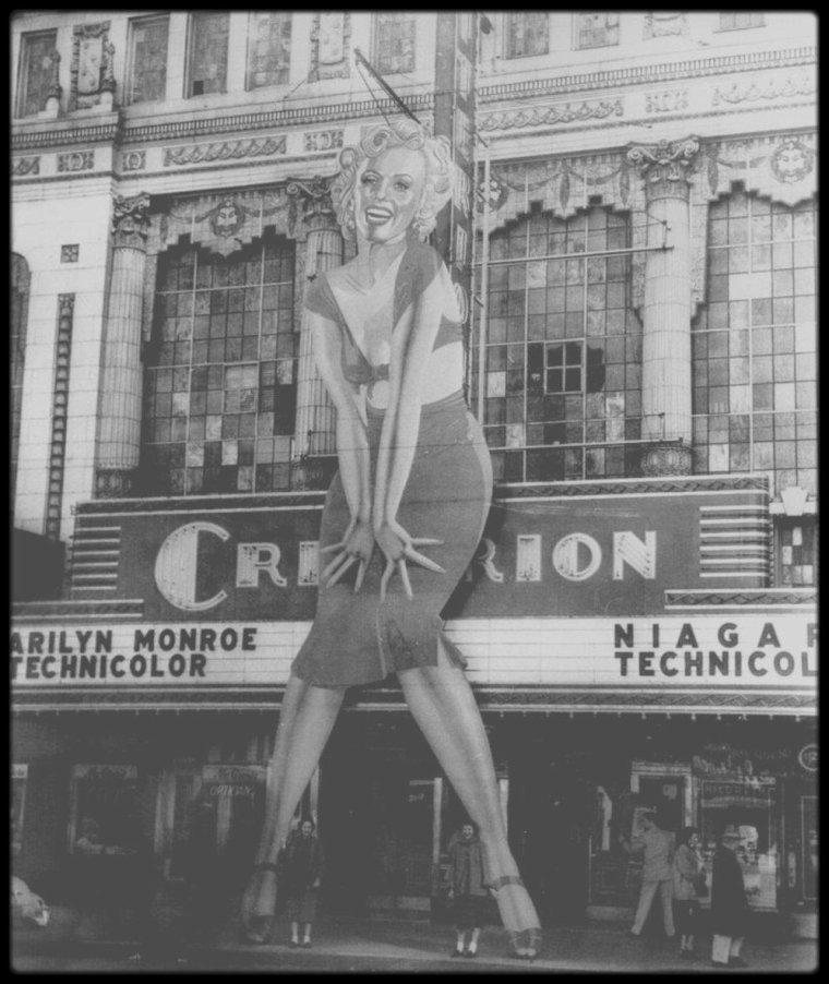 1947 à 1962 / FILMOGRAPHIE REELLE ET COMPLETE DE MARILYN (30 FILMS)