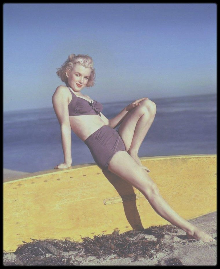 1951 / Marilyn photographiée par Laszlo WILLINGER.