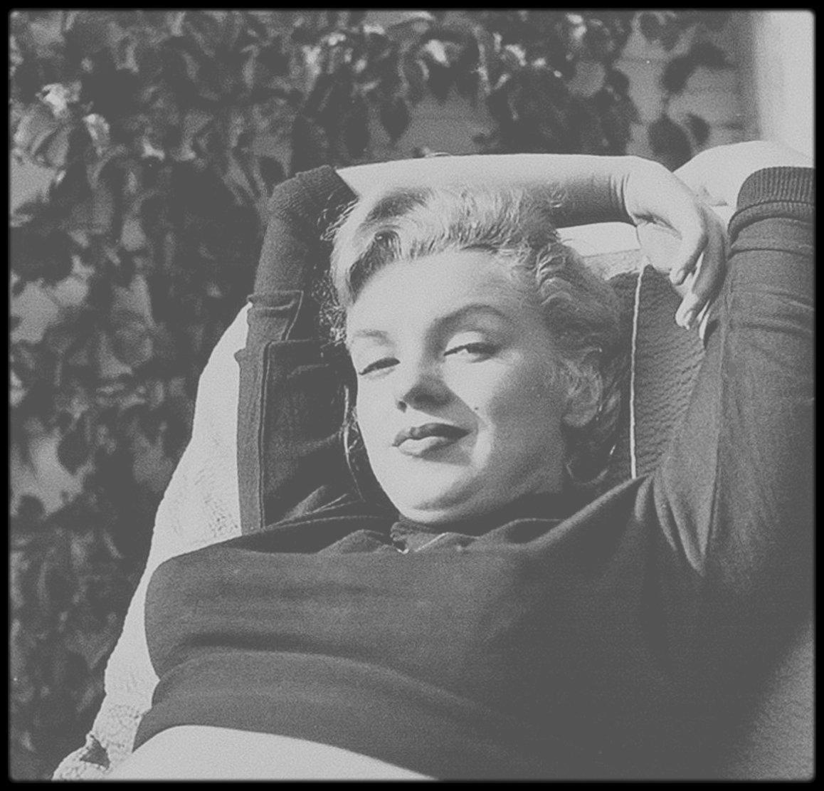1950 / Hollywood, Marilyn vue par le photographe Bob BEERMAN.