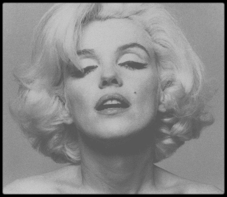 1962 / Clichés rares de Marilyn par le photographe Bert STERN.