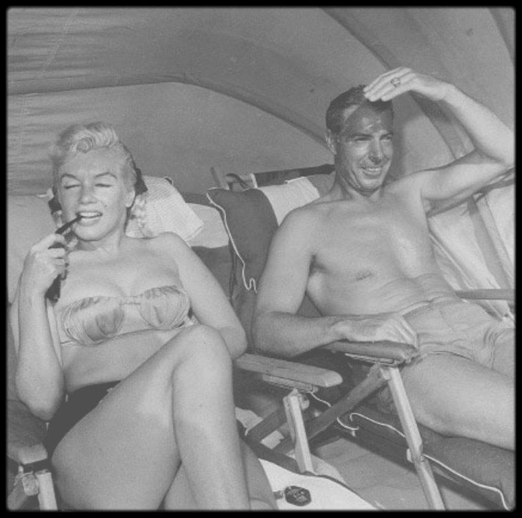 1952-62 / MARILYN et JOE