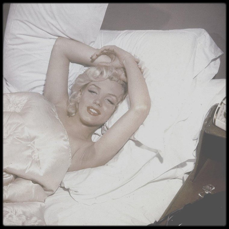 1952 / CHANEL N° 5, Marilyn by Bob BEERMAN.