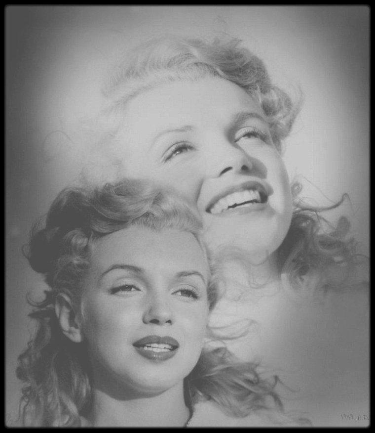 1949-53 / Quelques montages photos du photographe Andre DE DIENES.