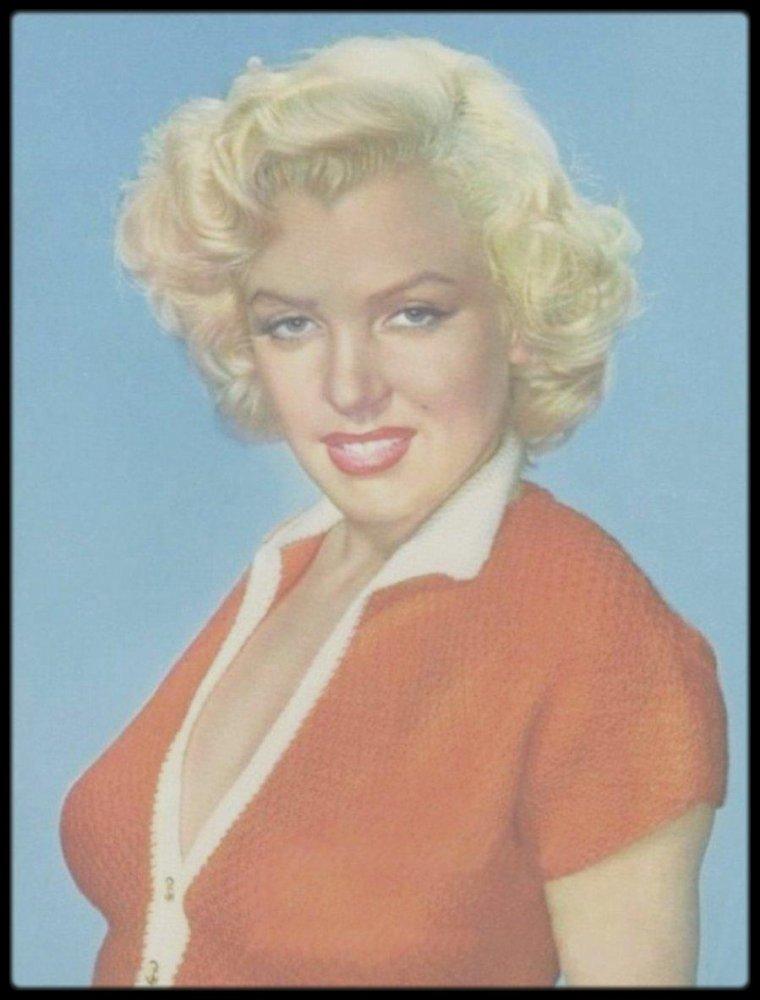 1953 / RARE Marilyn vue par le photographe Carlyle BLACKWELL.