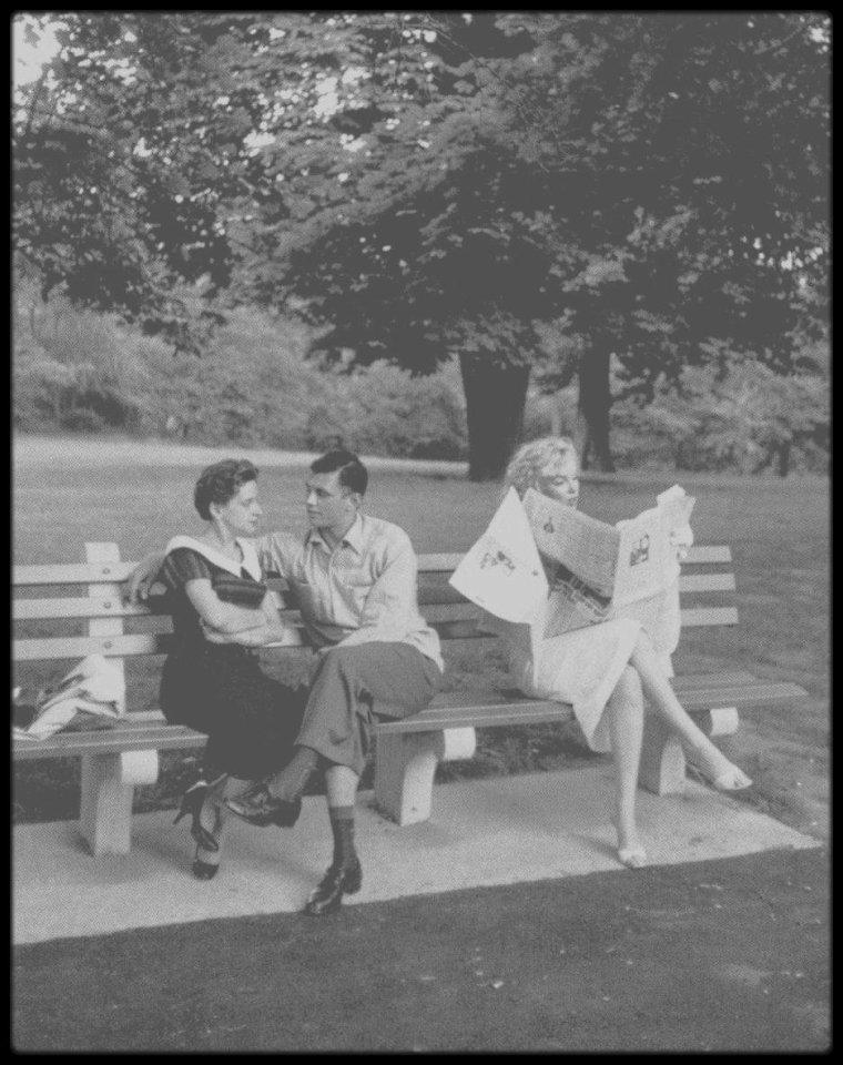 1957 / Une journée avec le couple MILLER en ballade...