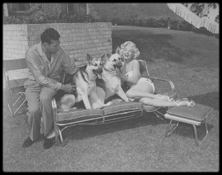 1953 / (Part II) Marilyn sous l'objectif du photographe Mischa PELZ.