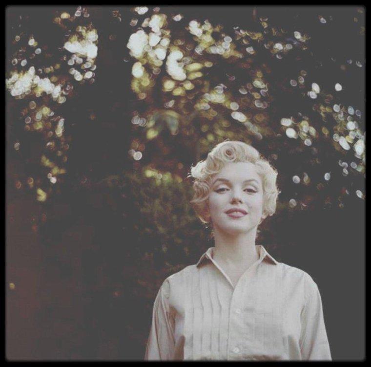 """Juillet 1956 / (Part II) Parkside, Londres, Marilyn sous l'objectif du photographe Milton GREENE, procède aux essais coiffures pour le film """"The Prince and the showgirl"""" avec Laurence OLIVIER, entre autres."""
