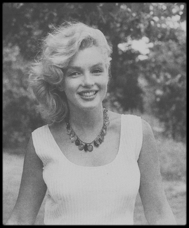 1957 / Connecticut, Marilyn et Arthur sous l'objectif de Sam SHAW.