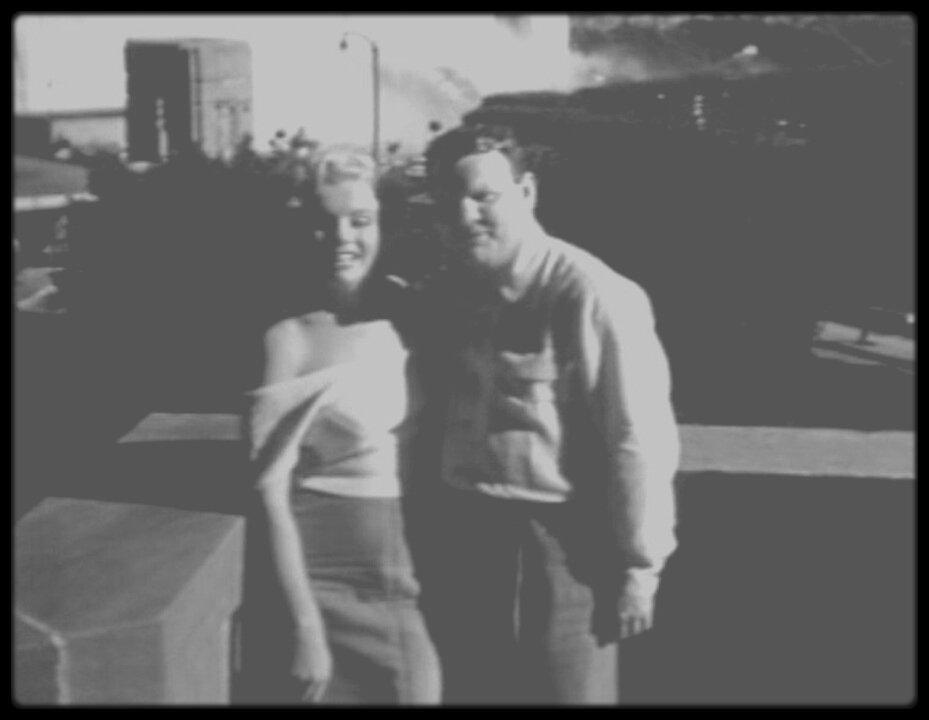 """(Part II) Marilyn et Robert F SLATZER lors du tournage du film """"Niagara""""... ( voir tag Robert F SLATZER pour + d'infos sur l'article)."""