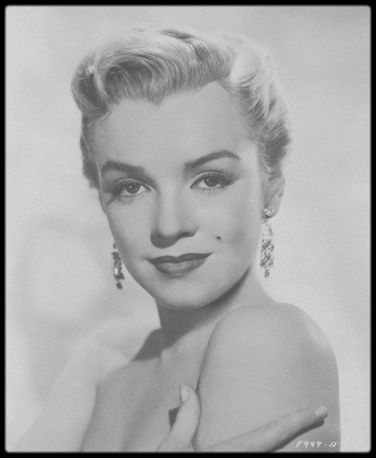 """1950 / Portraits publicitaires pour le film """"All about Eve"""", du photographe Edward CLARK."""