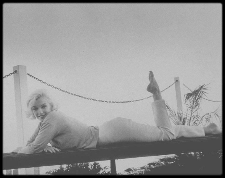 1962 / Marilyn sous l'objectif du photographe George BARRIS.