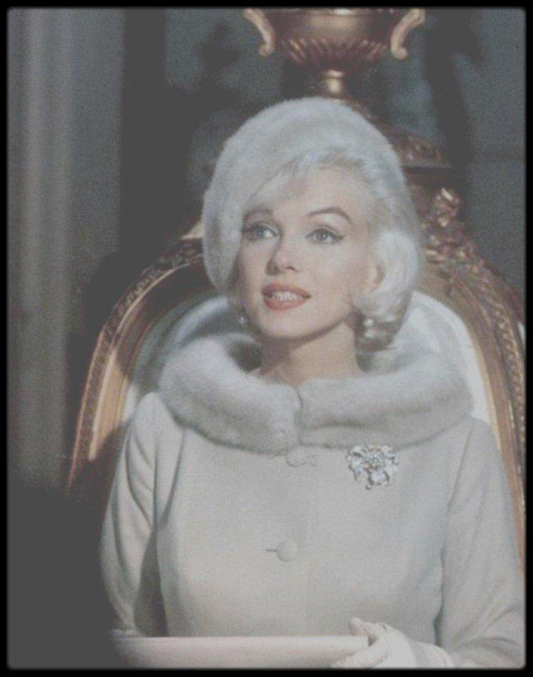 "1962 / Les RARES de Marilyn lors du tournage du film ""Something's got to give""."