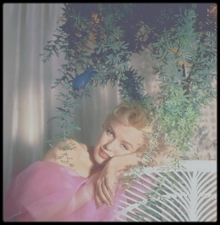 1956 / Wonderful Marilyn by Cecil BEATON.