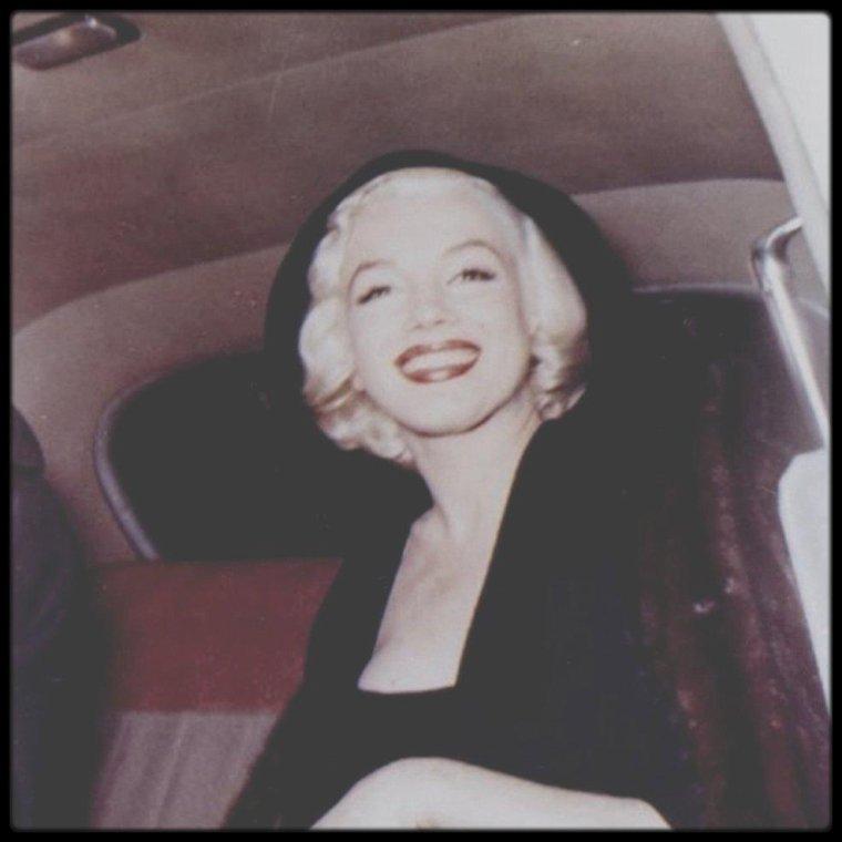 1955 / RARE Marilyn in New-York...