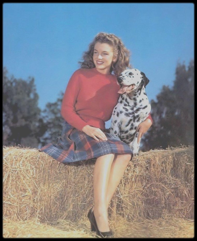 1945 / Norma Jeane by Potter HUETH.