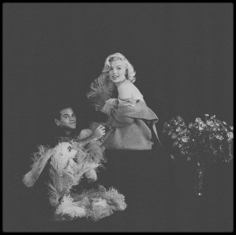 "1953 / Marilyn ""à la mandoline"" (Part II) sous l'objectif de Milton GREENE."