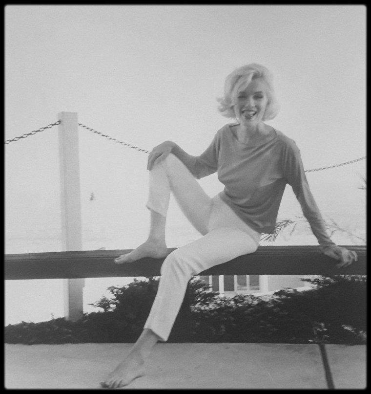 1962 / Marilyn by George BARRIS ; SES DERNIERS MOTS AU PHOTOGRAPHE.