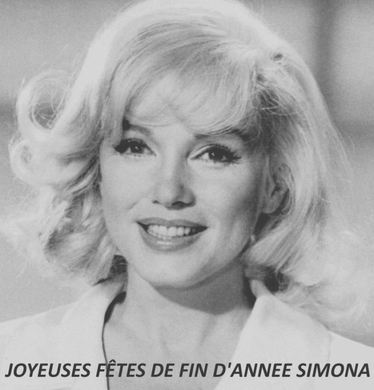 JOYEUSES FÊTES DE FIN D'ANNEE ! (montage photo pour mon amie Simona, photo originale pour les FANS).