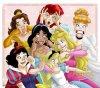 meme les princesses sont dijonter mdr !!!! xd les princesses