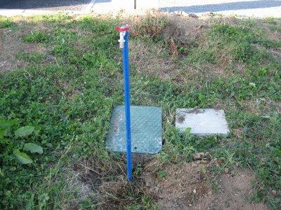 Pose d 39 un compteur d 39 eau avec col de cygne maison56230 for Col de cygne chantier