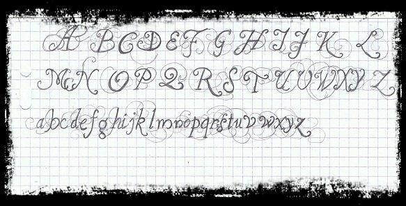 Bienvenue sur mon blog de Calligraphie !