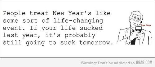 "A little bit of ""New-Year's-sarcasm"""