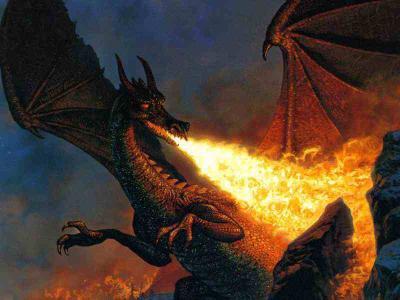 Les dragon cracheur de feu