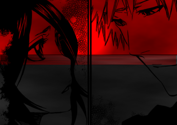 Rukia et Ichigo