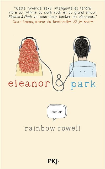 REVIEW -  ELEANOR ET PARK de Rainbow Rowell