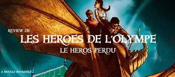 REVIEW - LES HEROS DE L'OLYMPE T.1 LE HEROS PERDU de Rick Riordan