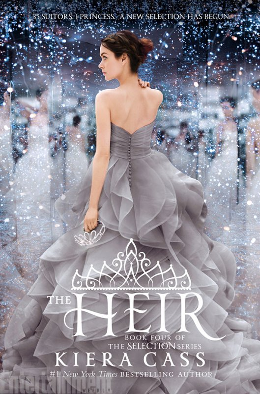 REVIEW - LA SELECTION T.4 L'HERITIERE de Kiera Cass