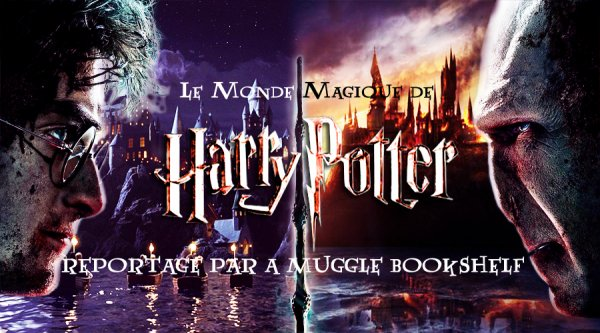 REPORTAGE - LE MONDE MAGIQUE D'HARRY POTTER (EXPOSITION A LA CITE DU CINEMA A PARIS)