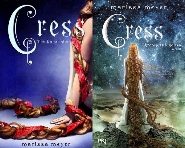 REVIEW - LES CHRONIQUES LUNAIRES T.3 CRESS de Marissa Meyer