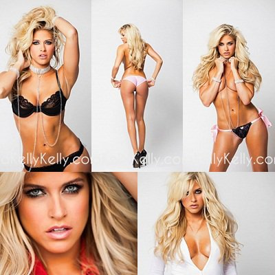 Nouveau shoot : Calendar Photoshoot - Kelly Kelly ☺