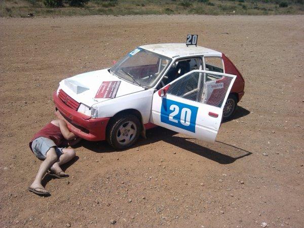 la voiture a richard prete pour la course a elne du 08/07 /2012