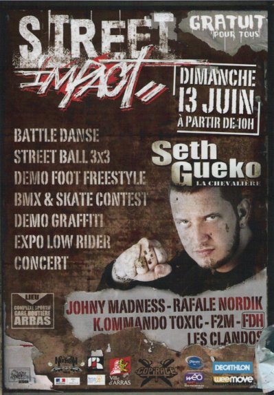 "FDH WARRIORS Au "" Street Impact "" d' Arras Le 13 Juin 2010"